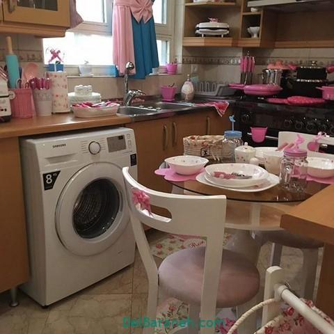 تزیین آشپزخانه عروس (۲۶)