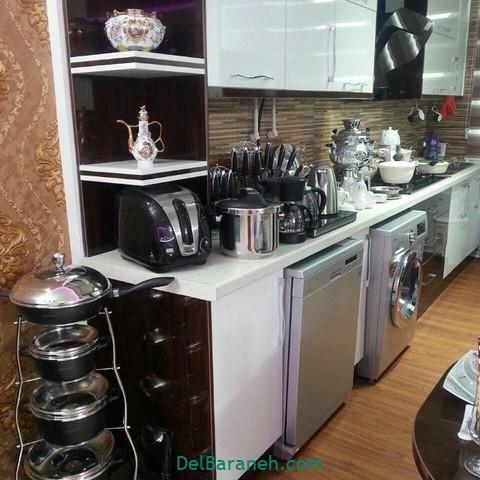 تزیین آشپزخانه عروس (۴)