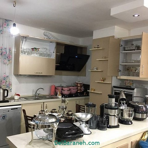 تزیین آشپزخانه عروس (۹)