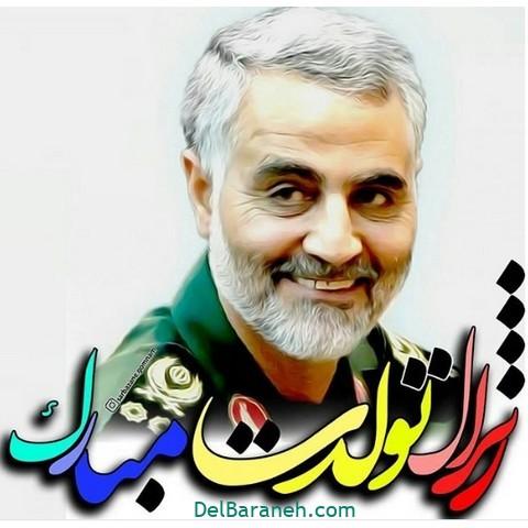 عکس پروفایل شهادت مبارک سردار سلیمانی