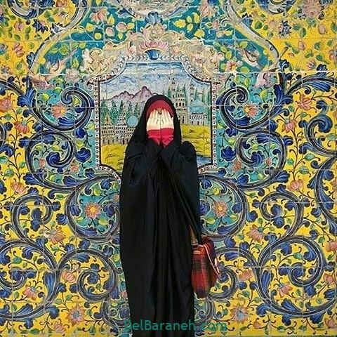 عکس دختر چادری (۱)