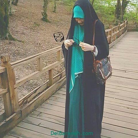 عکس دختر چادری (۱۱)