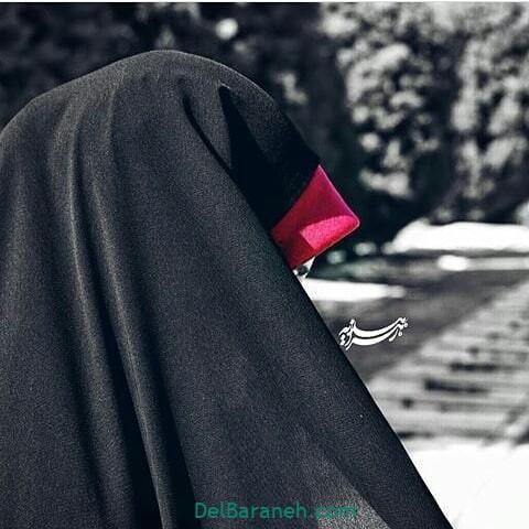 عکس دختر چادری (۱۴)
