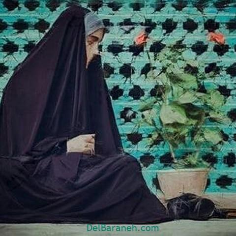 عکس دختر چادری (۱۵)