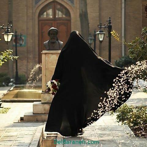 عکس دختر چادری (۱۷)