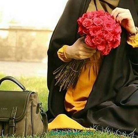 عکس دختر چادری (۱۸)
