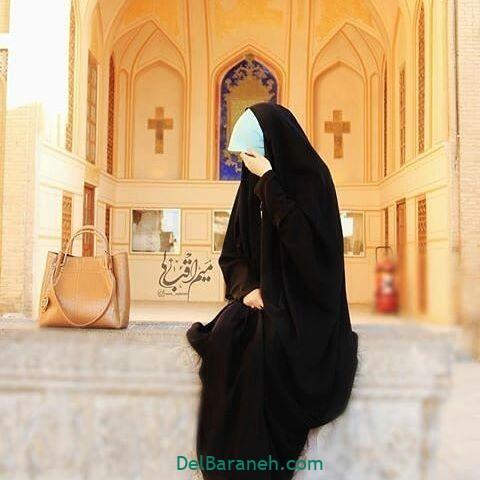 عکس دختر چادری (۴)