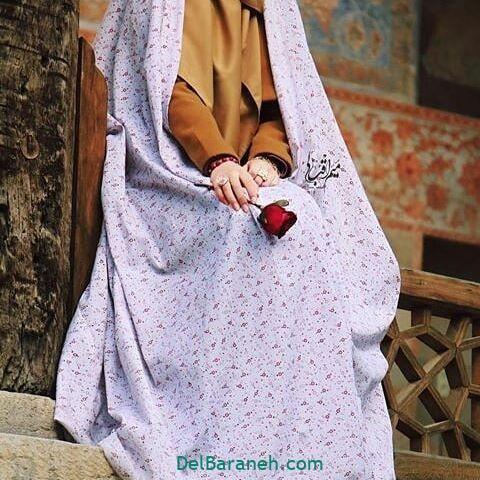 عکس دختر چادری (۵)