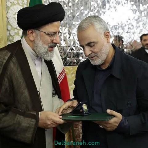 عکس سردار سلیمانی و رئیسی