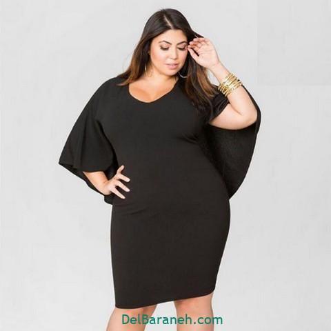 لباس مشکی سایز بزرگ (۱۰)