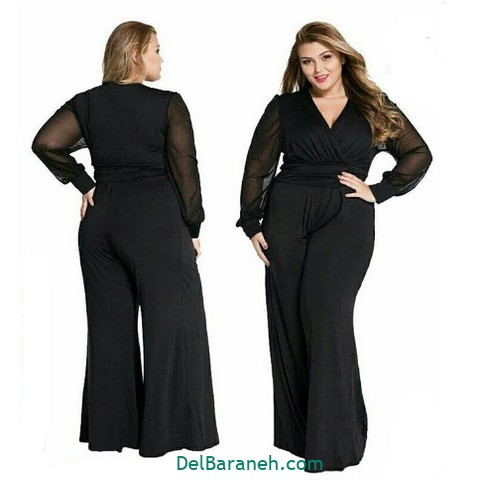 لباس مشکی سایز بزرگ (۱۱)