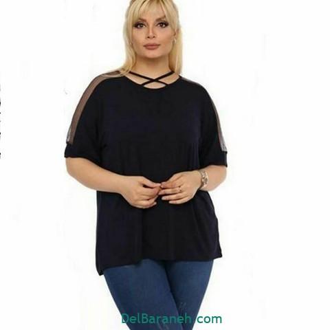 لباس مشکی سایز بزرگ (۱۳)