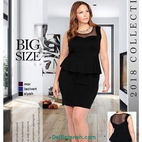 لباس مشکی سایز بزرگ (۲)