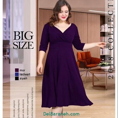 لباس مشکی سایز بزرگ (۳)