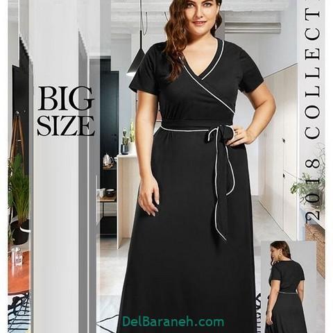 لباس مشکی سایز بزرگ (۴)