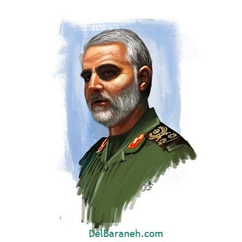 نقاشی سردار سلیمانی (۴)