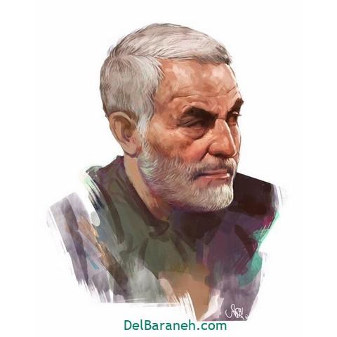 نقاشی سردار سلیمانی (۵)