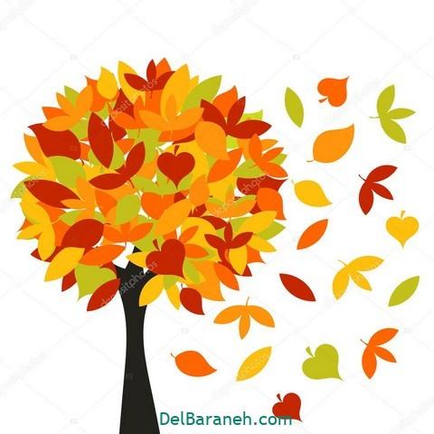 نقاشی پاییز کودکانه (۱۶)