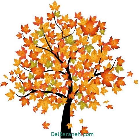 نقاشی پاییز کودکانه (۱۹)