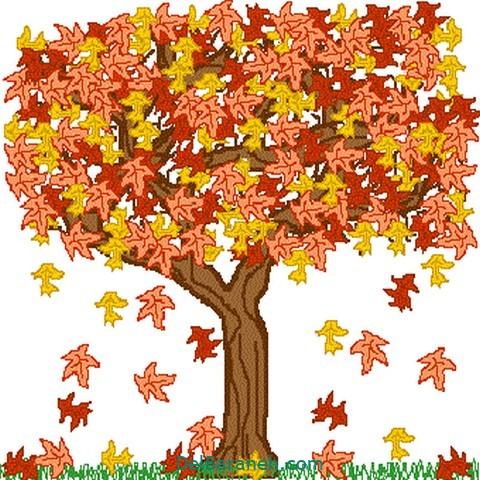 نقاشی پاییز کودکانه (۲۳)