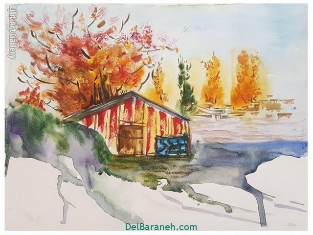 نقاشی پاییز کودکانه (۲۶)