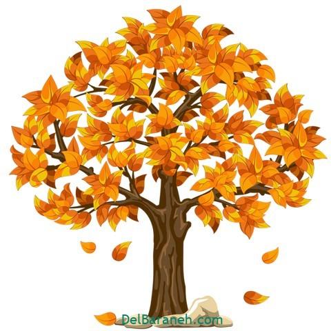 نقاشی پاییز کودکانه (۳)