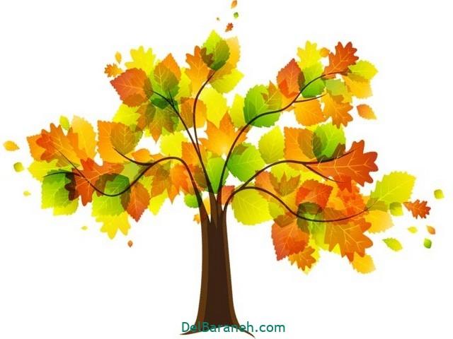 نقاشی پاییز کودکانه (۳۳)