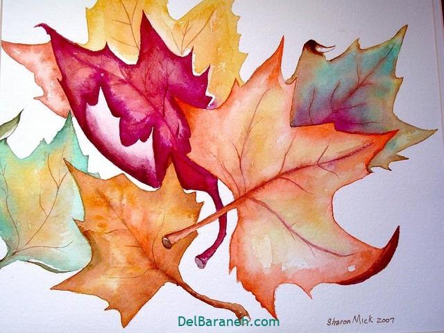 نقاشی پاییز کودکانه (۳۵)