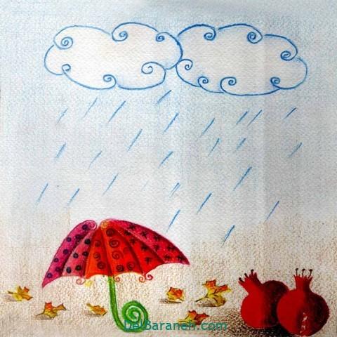 نقاشی پاییز کودکانه (۶)
