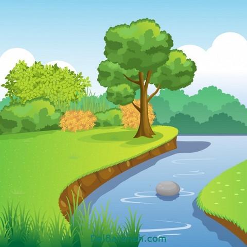 انشا گذر رودخانه (۲)