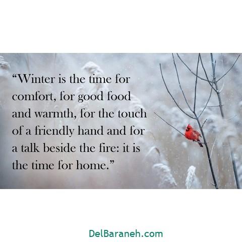 انگلیسی برفی 10 - متن زمستانی عاشقانه | 110 متن زیبا برفی و زمستانی جذاب و باکلاس