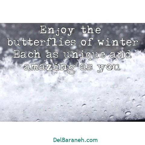 انگلیسی برفی 5 - متن زمستانی عاشقانه | 110 متن زیبا برفی و زمستانی جذاب و باکلاس
