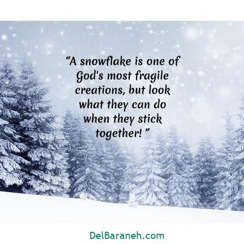 انگلیسی برفی 6 - متن زمستانی عاشقانه | 110 متن زیبا برفی و زمستانی جذاب و باکلاس