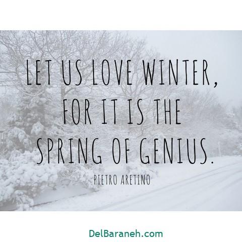 انگلیسی برفی 8 - متن زمستانی عاشقانه | 110 متن زیبا برفی و زمستانی جذاب و باکلاس