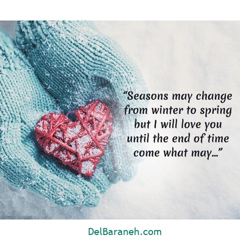 انگلیسی زمستانی 1 - متن زمستانی عاشقانه | 110 متن زیبا برفی و زمستانی جذاب و باکلاس