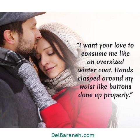 انگلیسی زمستانی 3 - متن زمستانی عاشقانه | 110 متن زیبا برفی و زمستانی جذاب و باکلاس