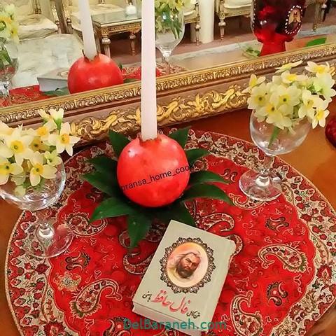 تزیین انار یلدا عروس (۳)