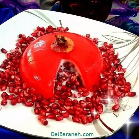 تزیین انار (۱۰)