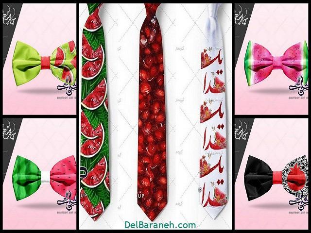 پاپیون کراوات یلدا