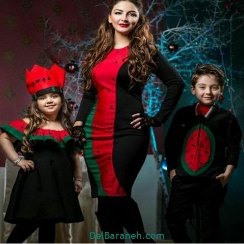 ست لباس خانوادگی یلدا