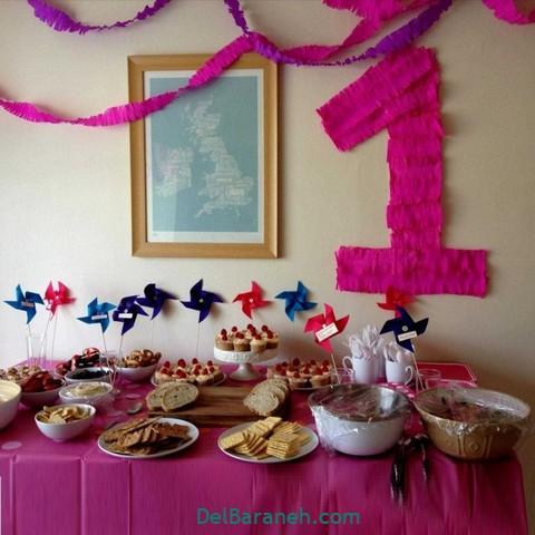 تزیین میز تولد (۱۰)