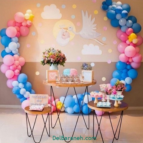 تزیین میز تولد (۱۲)