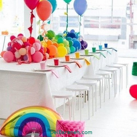 تزیین میز تولد (۳)