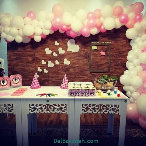 تزیین میز تولد (۴)