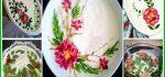 تزیین ماست | ۴۴ مدل تزیین ماست خیار-ماست بادمجان-بورانی مجلسی