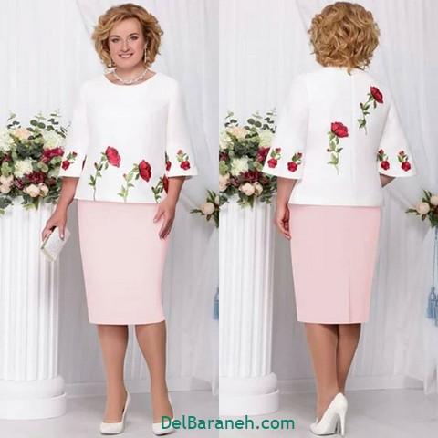 لباس مجلسی سایز بزرگ (۱)
