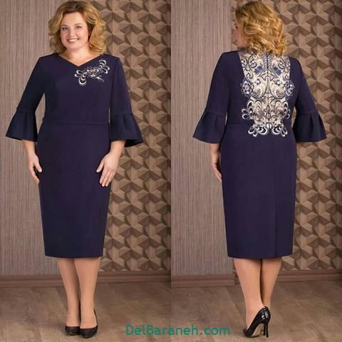 لباس مجلسی سایز بزرگ (۱۴)