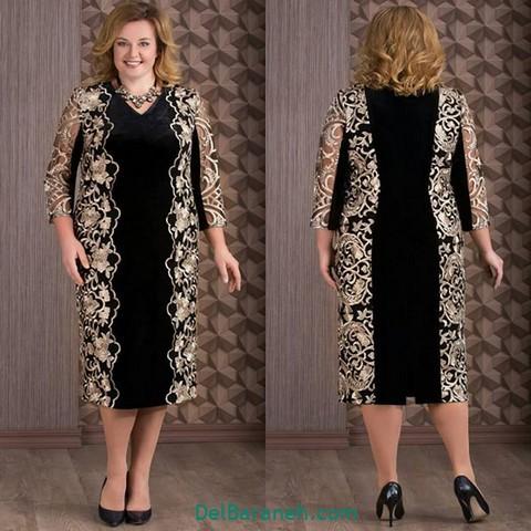 لباس مجلسی سایز بزرگ (۱۵)