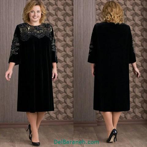 لباس مجلسی سایز بزرگ (۱۹)