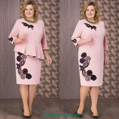 لباس مجلسی سایز بزرگ (۲)